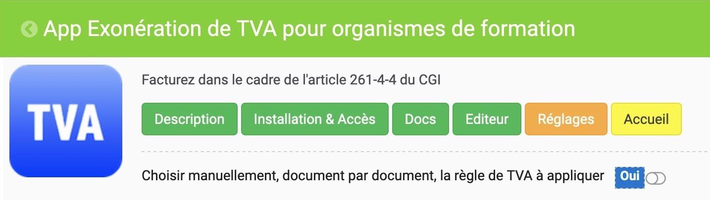 TVA auto-liquidée et exonération de TVA