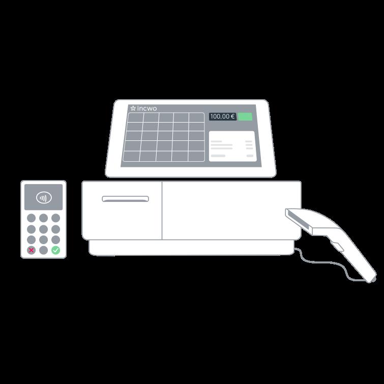 incwo, caisse enregistreuse connectée pour votre boutique