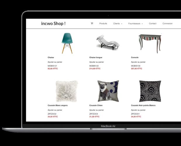 Site e-commerce et boutique en ligne